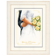 """Набор для вышивания крестом Vervaco """"Свадебный букет"""""""