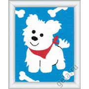 """Набор для вышивания крестом Vervaco """"Собачка"""""""