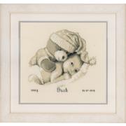 """Набор для вышивания крестом Vervaco """"Малыш с плюшевым мишкой"""""""