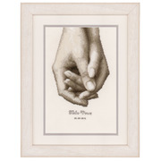 """Набор для вышивания крестом Vervaco """"Рука в руке"""""""