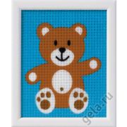 """Набор для вышивания крестом Vervaco """"Медвежонок"""""""