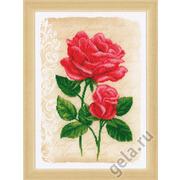 """Набор для вышивания крестом Vervaco """"Розы любви"""""""