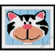 """Набор для вышивания крестом Vervaco """"Весёлый кот"""""""