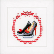 """Набор для вышивания крестом Vervaco """"Черные туфли-лодочки"""""""