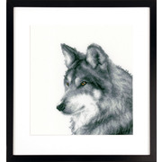 """Набор для вышивания крестом Vervaco """"Волк"""""""