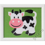 """Набор для вышивания крестом Vervaco """"Корова"""""""