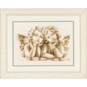 """Набор для вышивания крестом Vervaco """"Мечтающие ангелы"""""""