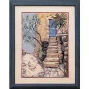 """Набор для вышивания крестом Oehlenschlager """"Курица у лестницы"""""""
