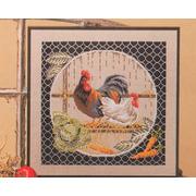 "Набор для вышивания крестом Oehlenschlager ""Курицы"""