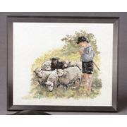 """Набор для вышивания крестом Oehlenschlager """"Пастух"""""""