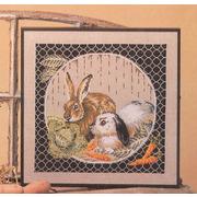 """Набор для вышивания крестом Oehlenschlager """"Кролики"""""""