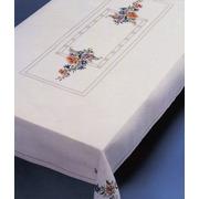 """Набор для вышивания крестом Oehlenschlager скатерти """"Летние цветы"""""""