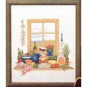 """Набор для вышивания крестом Oehlenschlager """"Кухонное окно"""""""