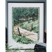 """Набор для вышивания крестом Oehlenschlager """"Сосновый лес"""""""