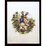 """Набор для вышивания крестом Oehlenschlager """"Кролик убегает"""""""