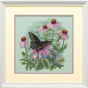 """Набор для вышивания крестом Dimensions """"Бабочка и ромашки"""""""