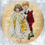 """Набор для вышивания бисером Краса и творчество """"Рождественские истории"""""""