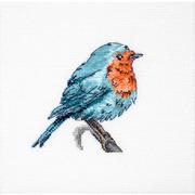 """Набор для вышивания крестом Luca-S """"Синяя птица"""""""
