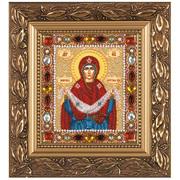 """Набор для вышивания бисером Nova sloboda """"Покров Пресвятой Богородицы"""""""