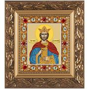 """Набор для вышивания бисером Nova sloboda """"Св.Равноап. Царь Константин"""""""