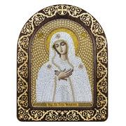 """Набор для вышивания бисером Nova sloboda """"Богородица Умиление"""""""