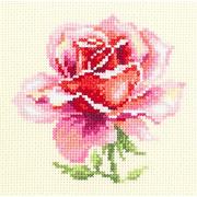 """Набор для вышивания крестом Чудесная игла """"Розовая роза"""""""