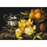 """Набор для выкладывания мозаики Паутинка """"Натюрморт с апельсинами"""""""