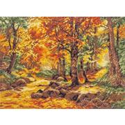 """Набор для вышивания крестом Палитра """"Осенний пейзаж"""""""