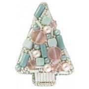 """Набор для вышивания бисером Crystal Art """"Голубая ель"""""""