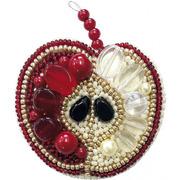 """Набор для вышивания бисером Crystal Art """"Красное яблоко"""""""