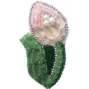 """Набор для вышивания бисером Crystal Art """"Тюльпан"""""""