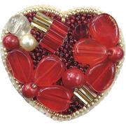 """Набор для вышивания бисером Crystal Art """"Сердце"""""""
