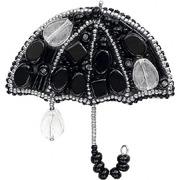 """Набор для вышивания бисером Crystal Art """"Вечерний дождик"""" (зонтик)"""