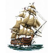 """Набор для вышивания крестом Белоснежка """"Корабль """"Виктория"""""""