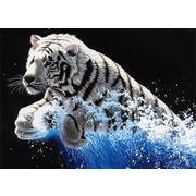 """Набор для вышивания крестом Белоснежка """"Белый тигр"""""""