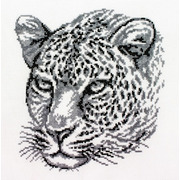 """Набор для вышивания крестом Белоснежка """"Леопард"""""""
