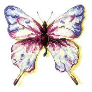 """Набор для вышивания крестом Белоснежка """"Эффект бабочки"""""""