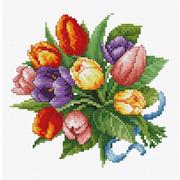 """Набор для вышивания крестом Белоснежка """"Тюльпаны"""""""