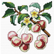 """Набор для вышивания крестом Белоснежка """"Спелая вишня"""""""