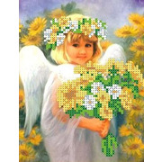 """Канва/ткань с нанесенным рисунком Каролинка """"Солнечный ангел"""""""