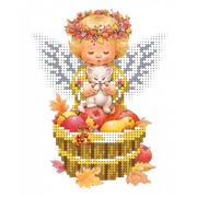 """Канва/ткань с нанесенным рисунком Каролинка """"Сбор урожая"""""""