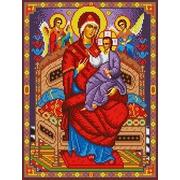 """Канва/ткань с нанесенным рисунком Каролинка """"Богородица Всецарица"""""""