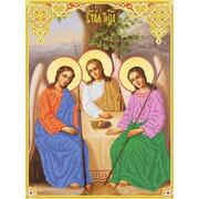 """Канва/ткань с нанесенным рисунком Каролинка """"Святая Троица"""""""