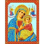 """Канва/ткань с нанесенным рисунком Каролинка """"Богородица Страстная"""""""