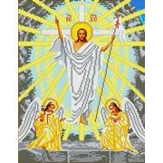 """Канва/ткань с нанесенным рисунком Каролинка """"Воскресение Христово"""""""