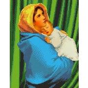 """Канва/ткань с нанесенным рисунком Каролинка """"Странствующая Мадонна"""""""