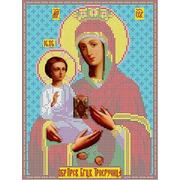 """Канва/ткань с нанесенным рисунком Каролинка """"Богородица Троеручница"""""""