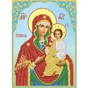 """Канва/ткань с нанесенным рисунком Каролинка """"Богородица Тихвинская"""""""