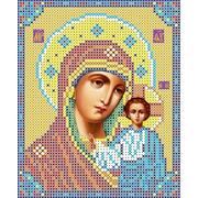 """Канва/ткань с нанесенным рисунком Каролинка """"Богородица Казанская"""""""