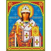 """Канва/ткань с нанесенным рисунком Каролинка """"Святой Никита"""""""